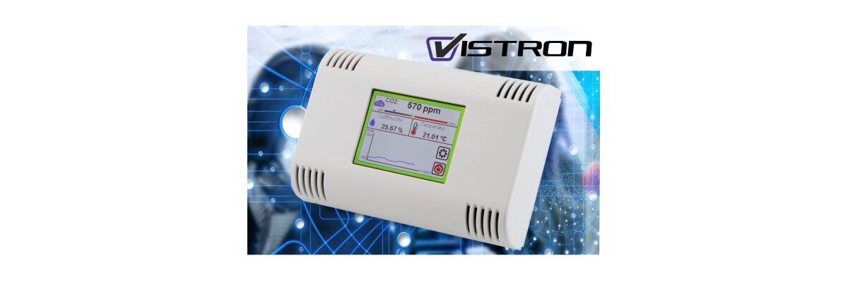 Vistron CO2 Monitore sorgen für bessere und hygienische Raumluft  - Vistron CO2 Monitore sorgen für bessere und hygienische Raumluft