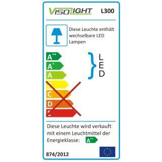 Visolight L300 LED Feuchtraum- Außenleuchte IP65 1500lm 5000K weiß