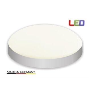 Visolight D280  LED Wand- Deckenleuchte TÜV GS geprüft 1900lm 2700K silber