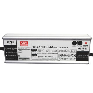 Meanwell Netzteil HLG-150H-24A 24V 150W IP65